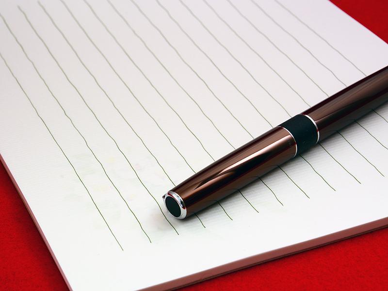 ペン 封筒