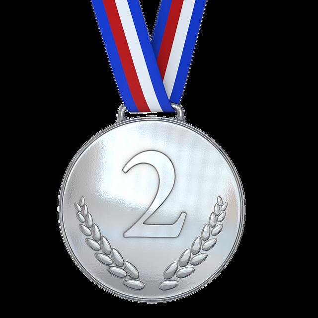 2位 銀メダル 準優勝