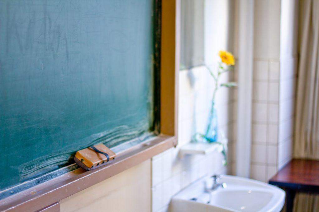 教室 学校 黒板